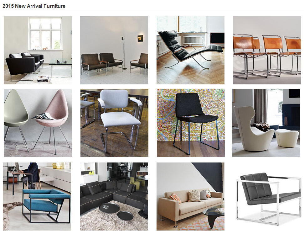 2015 new products furniture