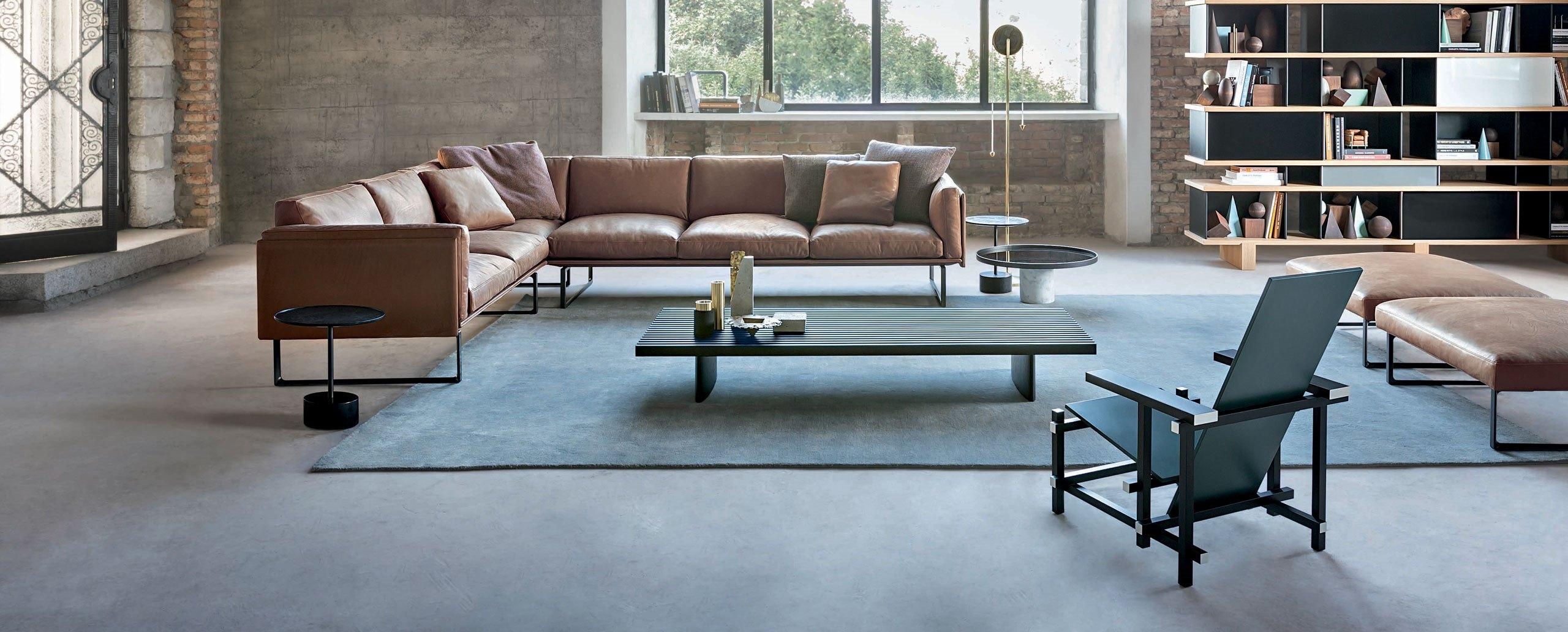 202 Otto Corner Sofa Cassina Furniture Replica