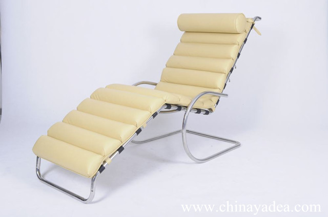 Ludwig mies van der rohe dsignes copy ludwig mies van der for Mr adjustable chaise lounge