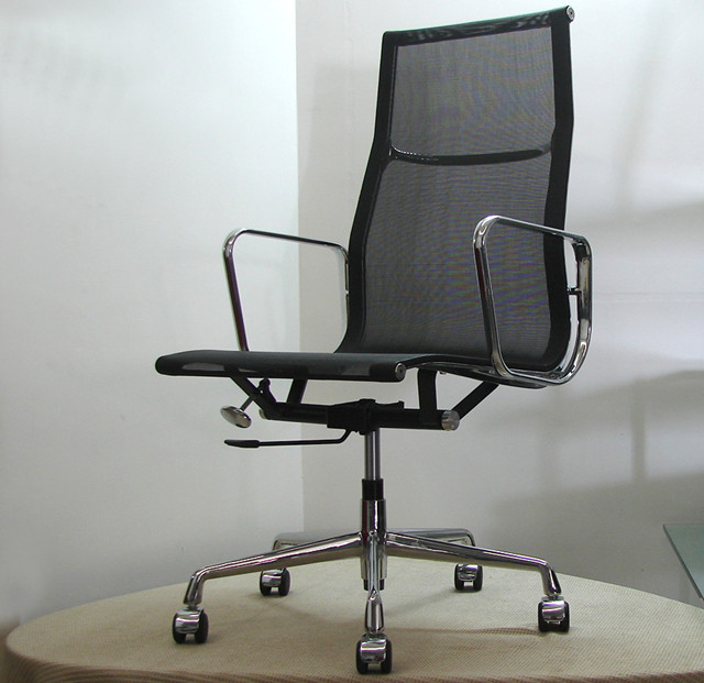 Aluminium Group Office Chair - Mesh