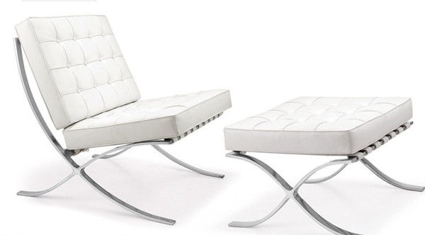 Super Barcelona Chair Barcelona Chair White Leather Barcelona Caraccident5 Cool Chair Designs And Ideas Caraccident5Info