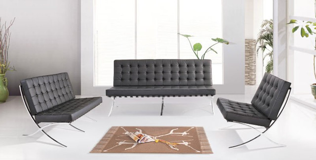 Barcelona chair, Barcelona sofa, Barcelona coffee table