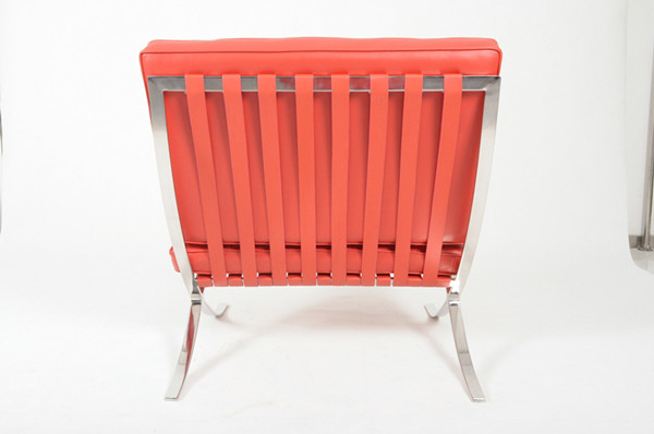 Barcelona chair-Red Leather