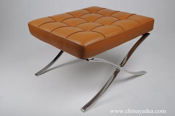 Fabulous Barcelona chair Barcelona chair in aniline leather Barcelona chair  SA89
