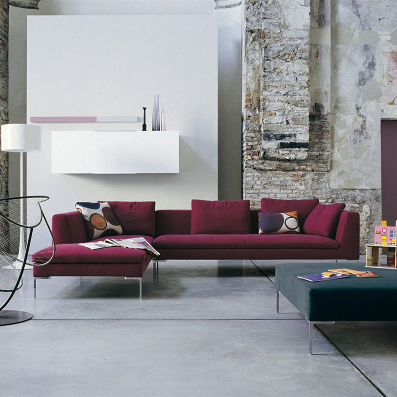 Red_Charles_Sectional_Sofa