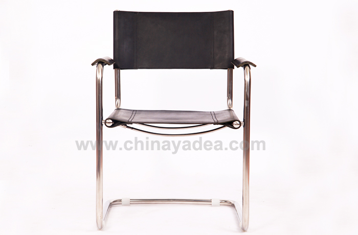 Saddle Leather S34 Armchair