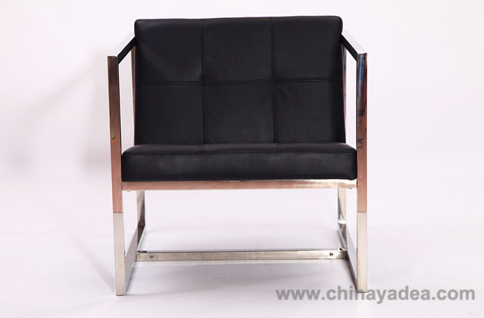 Leather Angles Chair