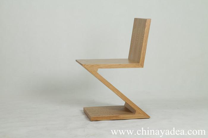 Designer Chair Zig Zag