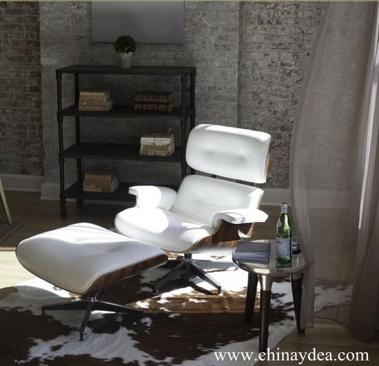 Good reproduction of the eames lounge chair and ottoman used in the home office hotel lounge - Eames lounge chair and ottoman reproduction ...