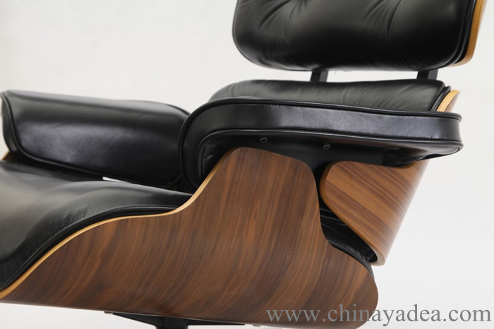 Eames Lounge Chair with wood veneers