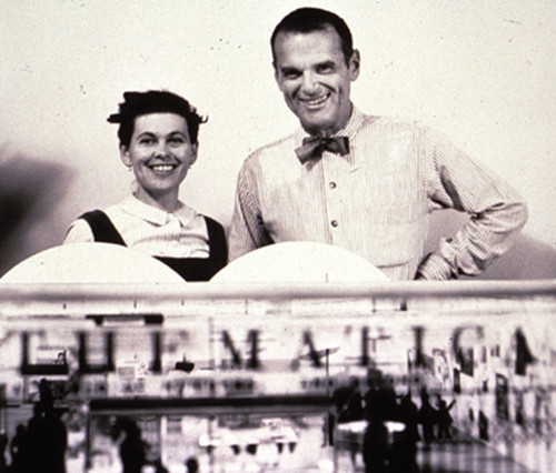 Famous Furniture Designer - Charles & Ray Eames