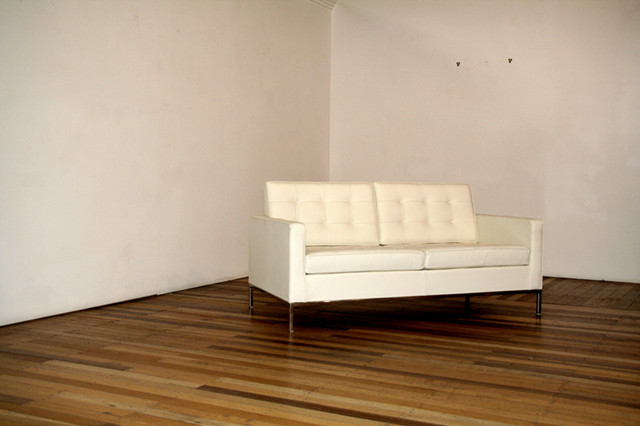 Florence knoll 3 seat sofa hivemodern com - Florence Knoll 2 Seater Sofa Rooms