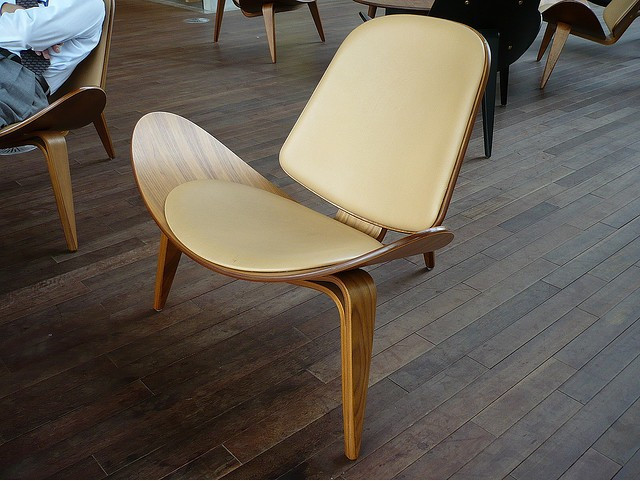 Carl Hansen Shell Chair Pictures To Pin On Pinterest