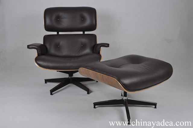 Herman Miller Eames Lounge Chair Replica - A Classic Designer Chair from China Yadea & Herman Miller Eames Lounge Chair Replica - Walnut - Choco Brown ...