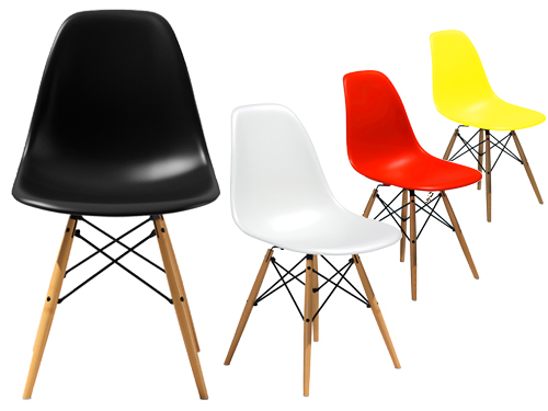 Wonderful Eames Office Replica Executive Chair. DSW Dining Side Chair Wooden Legs