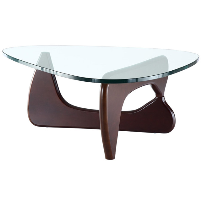 china yadea 39 s isamu noguchi coffee table with dark walnut wood base news yadea. Black Bedroom Furniture Sets. Home Design Ideas