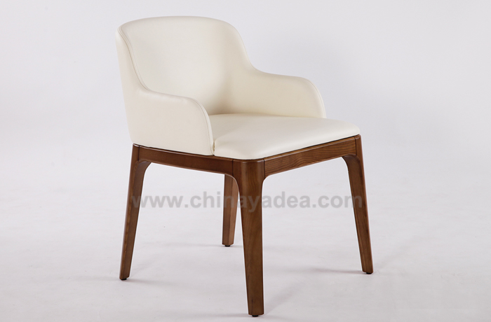Leather Grace Armchair
