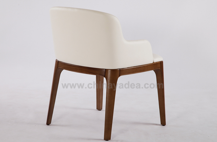 Grace Armchair with Wood Legs