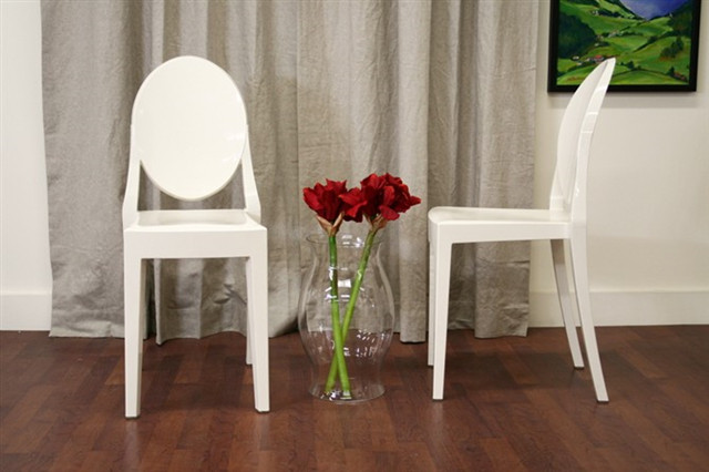 Ghost Chair|Victoria Ghost Chair|Kartell Victoria Ghost Dining Chair ...