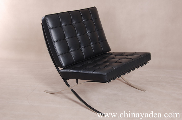 premium leather furniture barcelona chair china suppliers. Black Bedroom Furniture Sets. Home Design Ideas