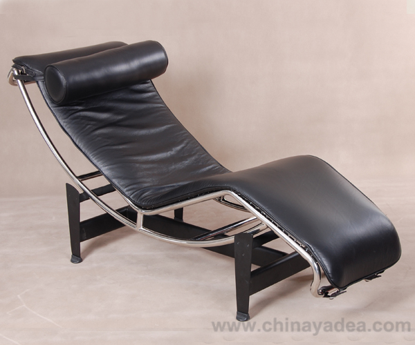 ... Grain Aniline Leather LC4 Chaise Lounge Cassina Or Italian Leather LC4  Chaise Lounge Replica On All Parts Of The Chair, Including Seating Sides,  Back, ...