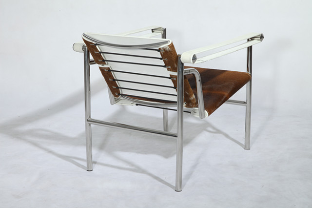 Le Corbusier LC1 Basculant Chair   Cowhide