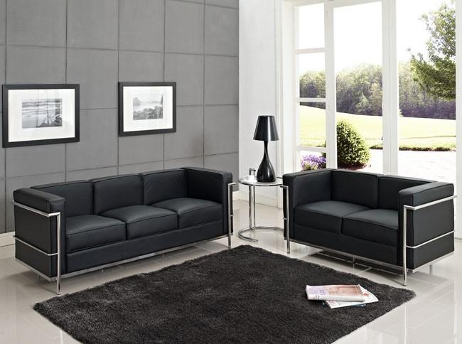 Le Corbusier LC2 2 Seat Sofa|replica le corbusier lc2|Le Corbusier ...