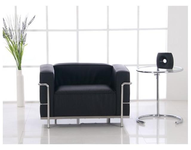 Le Corbusier LC3 Armchair   Black Leather