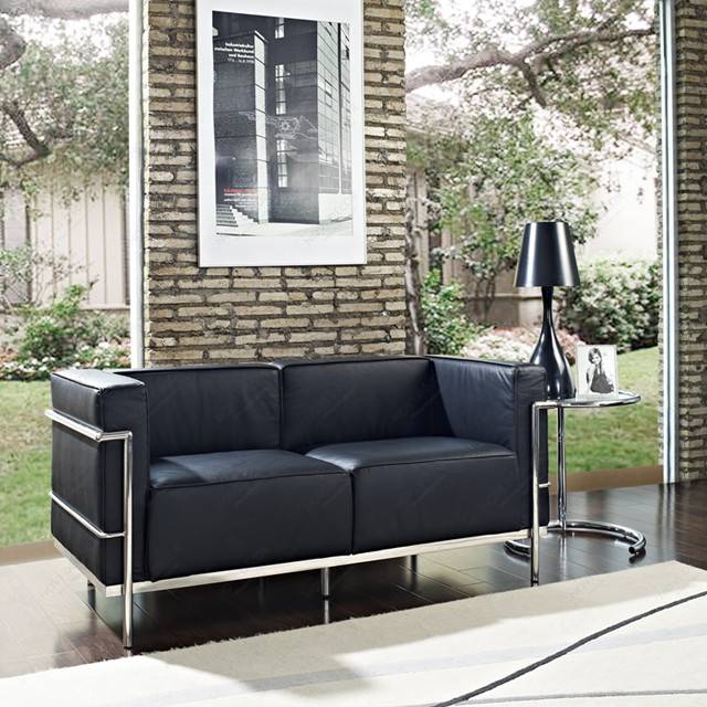 Le Corbusier LC3 Sofa -  LC3 Grand Modele Two-Seat Sofa