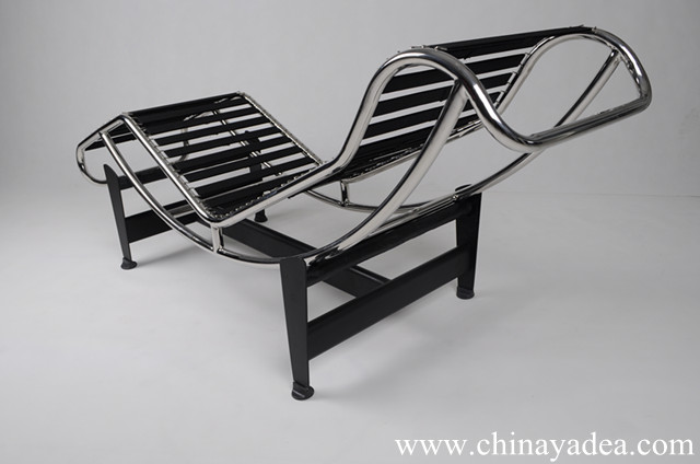 Corbusier Stoel Replica : Le corbusier lc chaise loungecassina le corbusier lc replicale
