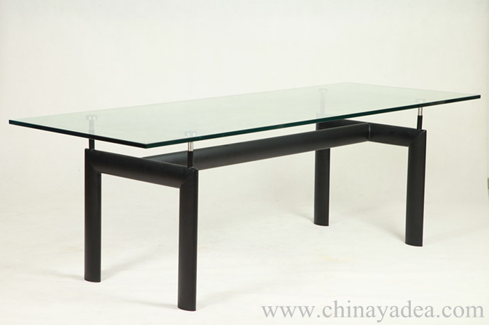 lc6 table le corbusier dining table. Black Bedroom Furniture Sets. Home Design Ideas