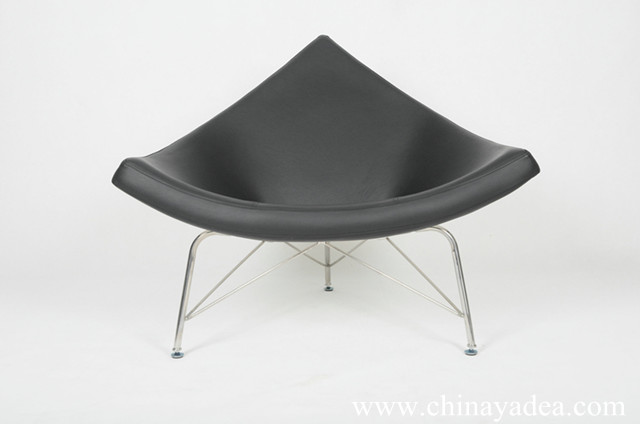 Nelson Coconut Chair in leather