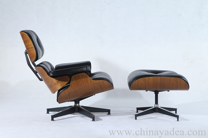 Pv021 1 D Eames Lounge Chair With Ottoman Of Premium
