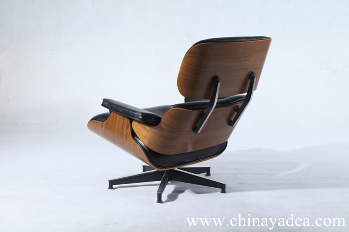 PV021-1-D Eames lounge chair with ottoman of Premium version