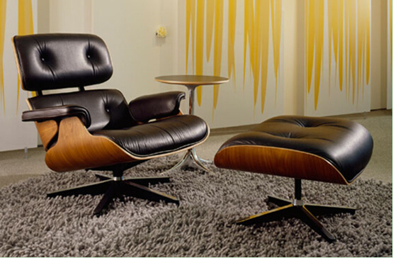 Eames lounge chair leather