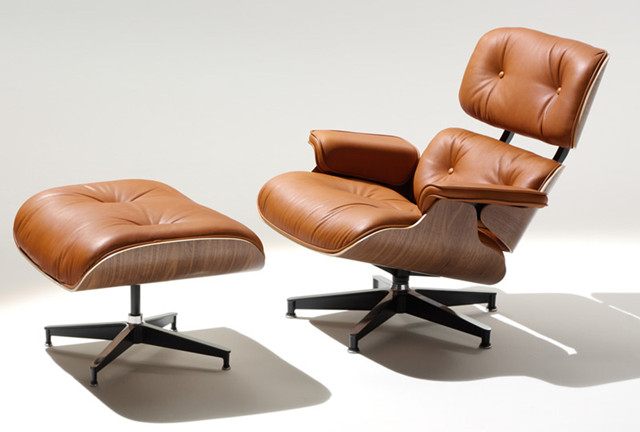 Replica Herman miller Eames Lounge Chair and Ottoman