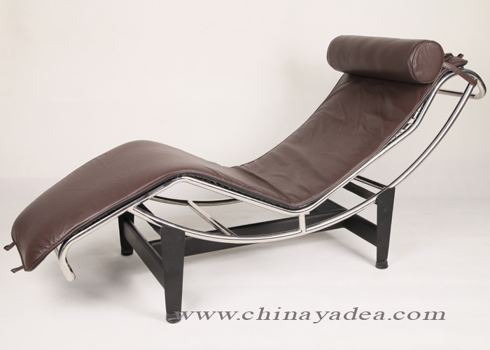 Replica le corbusier lc4 chaise longue italian leather for Le corbusier replica