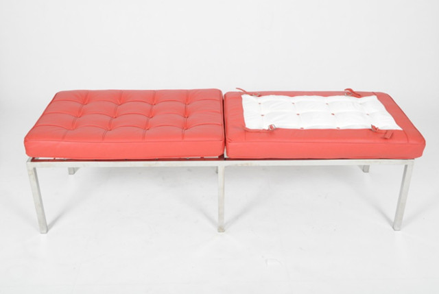 Knoll Bench 3 Seater designed by Florence Knoll