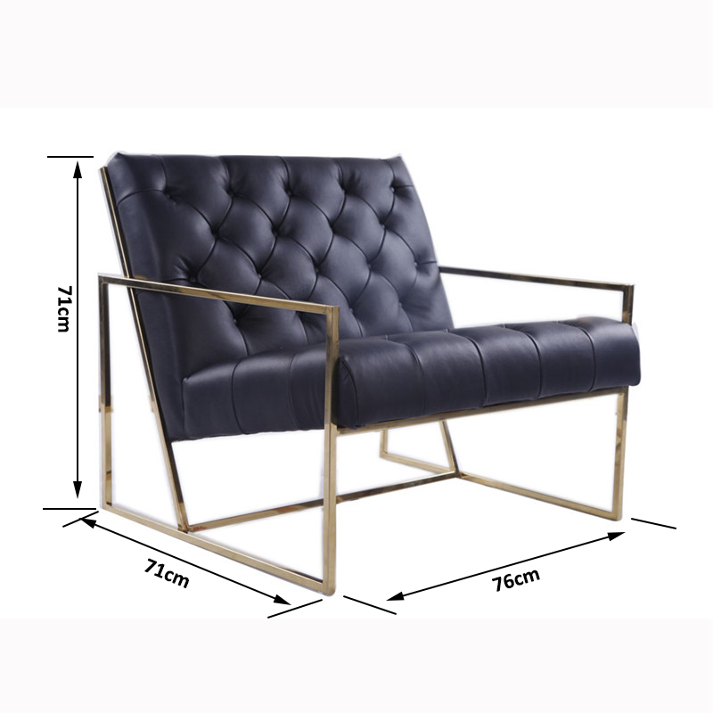 thin frame chair size