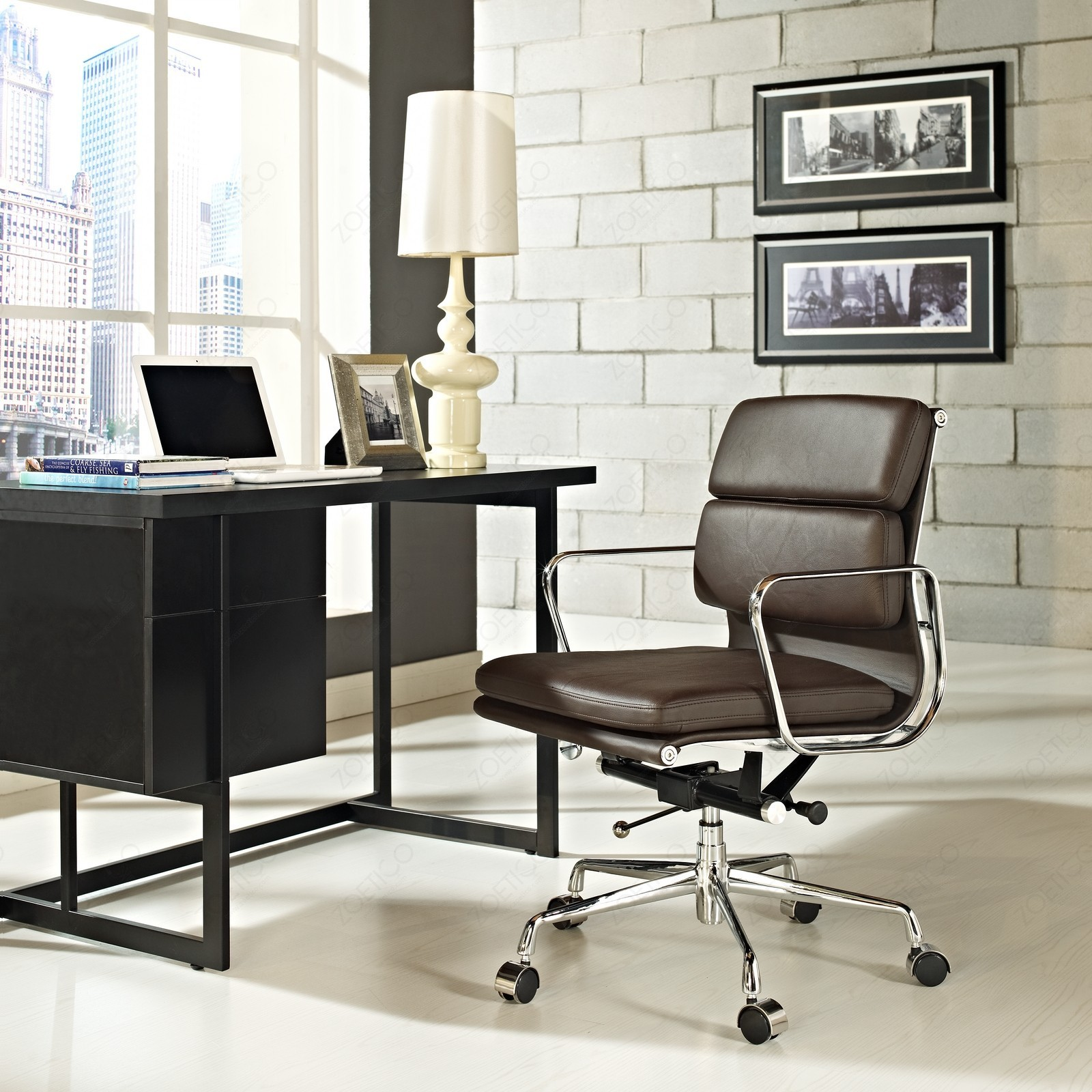 Soft Pad Management Chair Eames fice Chair modern classic furniture