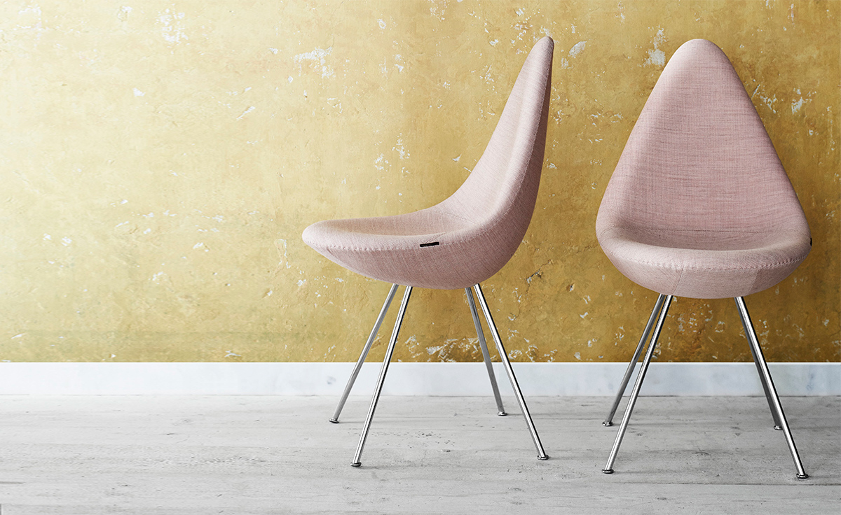 Drop Chair in Cashmere