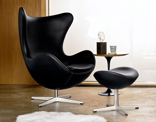 The Jacobsen Egg Chair Affords Privacy In Otherwise Public Spaces.