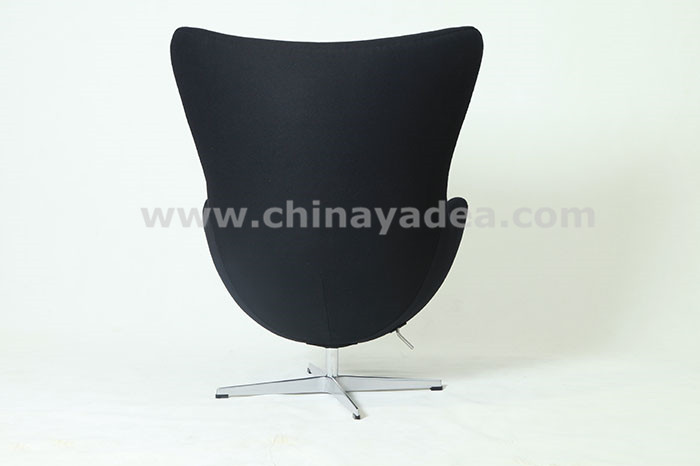 Egg chair in cashmere