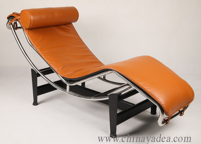 le corbusier chaise lounge leather