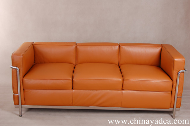 Le corbusier sofa lc2 cf009 china suppliers 1954112 Le corbusier lc2 sofa