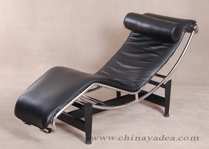 replica Le Corbusier chaise lounge chair LC4