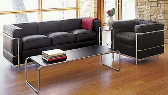 le corbusier sofa lc2 jessie lin yadea. Black Bedroom Furniture Sets. Home Design Ideas