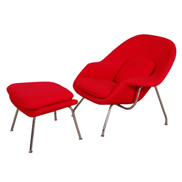 Womb Chair|Womb Chair and Ottoman|modern classic furniture