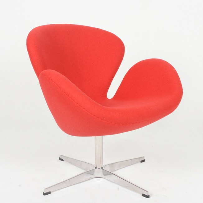 Swan Chair   Cashmere Wool