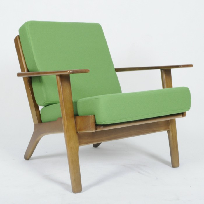 hans wegner plank chair ge 290 easy chair plank chair factory replica